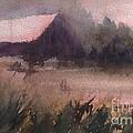 Barn In The Fog by Gail Heffron