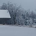 Barn In The Long Wait by Jeff Folger