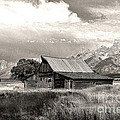 Barn In The Tetons by Robert Kleppin