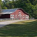 Barn At Yonah Mountain 002 by Spencer Studios