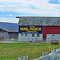 Barn - Mail Pouch Tobacco by Paul Ward
