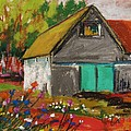 Barn Off From The Garden by John Williams