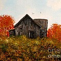 Barn Old Rusted And Deserted by Gail Matthews