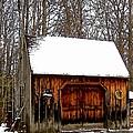 Barn On Great Hill Road by Elizabeth Tillar