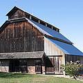 Barn On Hawkins Road by Harold Rau