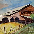 Barn On Rt. 42 by Judith Espinoza