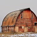 Barn On The Hill by Bonfire Photography