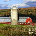 Barn On The River Rd. by Deborah Benoit