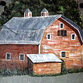 Barn On Va Creeper Trail by Gino Didio