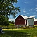Barn Painting by Guy Shultz