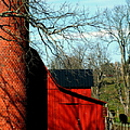 Barn Shadows by Karen Wiles