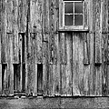 Barn Window by Jeff Burton