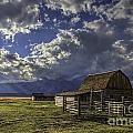 Barn With A View by Gary Holmes