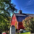 Barn With Out-sheds Brunner Family Farm by Roger Passman