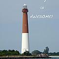 Barnegat Lighthouse Nj - Old Barney by Mother Nature