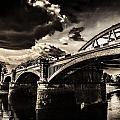Barnes Rail Bridge by Lenny Carter