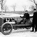 Barney Oldfield And Henry Ford by Underwood Archives