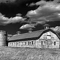 Barns Are Beautiful II Bw by Steve Hurt