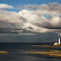 Barns Ness Lighthouse  East Lothian by John Short