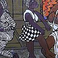 Barnyard Trance Dancers by Kalikata MBula