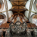 Baroque Grand Organ In Oude Kerk by Artur Bogacki