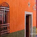 Barred Window, Mexico by John Shaw
