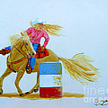Barrel Racer by Anthony Dunphy