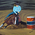 Barrel Racer by Lana Tyler