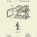 Barrel Warmer 1890 Patent Art by Prior Art Design