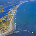 Barrier Island Aerial by Betsy Knapp