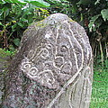 Barriles Carved Stone Indian by Ted Pollard