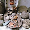 Barriles Indian Relics by Ted Pollard