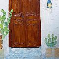 Barrio Doorway by Susan Woodward