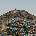 Barrio In Lima by Allen Sheffield