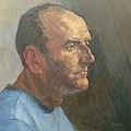 Barry, 2008 Oil On Canvas by Pat Maclaurin
