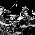 Barry Alexander Drumming For Johnny Lang by Ginger Wakem