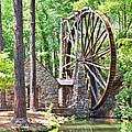 Berry College's Old Mill - Square by Gordon Elwell