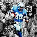 Barry Sanders Breaking Out by Brian Reaves