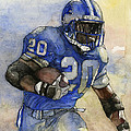 Barry Sanders by Michael  Pattison