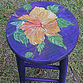 Barstool Hibiscus by Lizi Beard-Ward