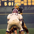 Bart Starr Looks Around by Retro Images Archive
