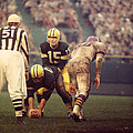 Bart Starr Looks Calm by Retro Images Archive