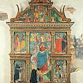 Bartolomeo De Benzi, Madonna And Angels by Everett