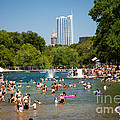Barton Springs Pool by Randy Smith