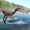 Baryonyx Dinosaur by Jose Antonio PeÑas