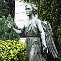 Barzaghi Memorial Side View II Detail Monumental Cemetery by Sally Rockefeller