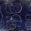 Baseball Patent Blue by Jon Neidert