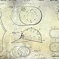 Baseball Patent Panoramic by Jon Neidert