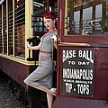 Base Ball To Day Color Version by Jim Poulos