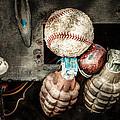 Baseball And Hand Grenades by Gary Heller